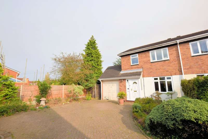 3 Bedrooms Semi Detached House for sale in Deanbrook Close, Shirley