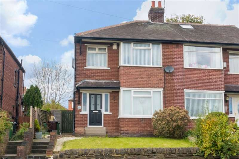 3 Bedrooms Semi Detached House for sale in Whitehall Road, Wortley, LS12