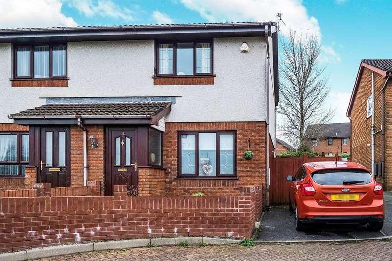2 Bedrooms Semi Detached House for sale in Lon Enfys, Llansamlet, Swansea