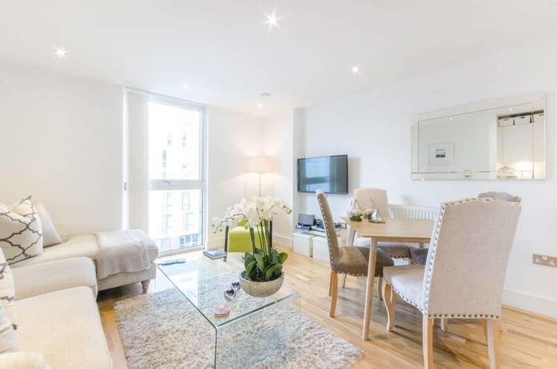 2 Bedrooms Flat for sale in Dowells Street, Greenwich, SE10
