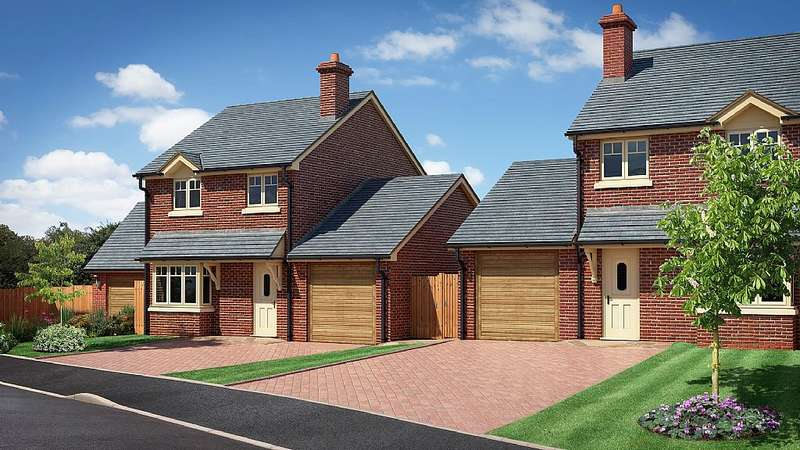 3 Bedrooms Detached House for sale in The Cromwell, The Beeches, Chester Road, Whitchurch, Shropshire, SY13 1NB