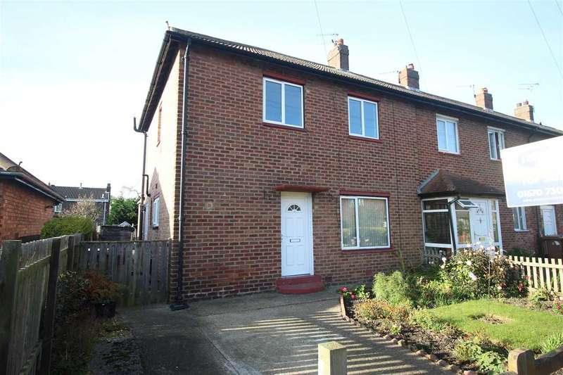 3 Bedrooms Semi Detached House for sale in Fern Drive, Dudley, Cramlington