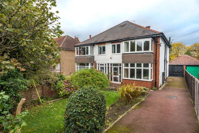3 Bedrooms Semi Detached House for sale in North Park Avenue, Leeds, West Yorkshire, LS8