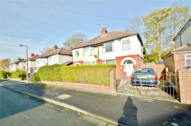 3 Bedrooms Semi Detached House for sale in Sandileigh Avenue, Cheadle, Stockport, Cheshire