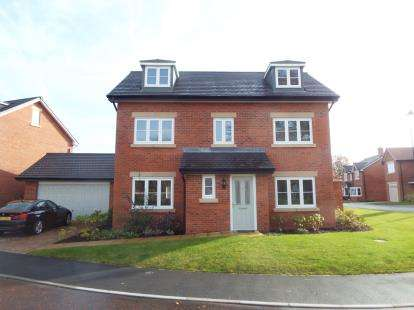 5 Bedrooms Detached House for sale in Bronte Walk, Backford, Chester, Cheshire, CH1