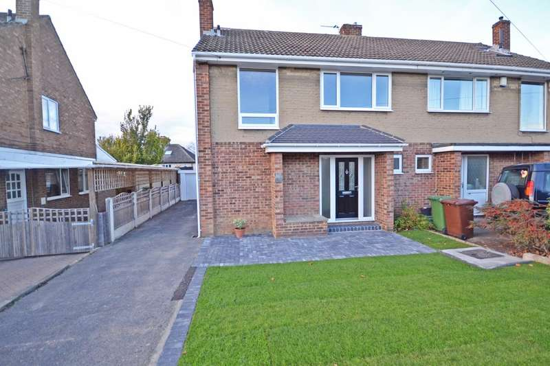 3 Bedrooms Semi Detached House for sale in Lennox Drive, Lupset, Wakefield