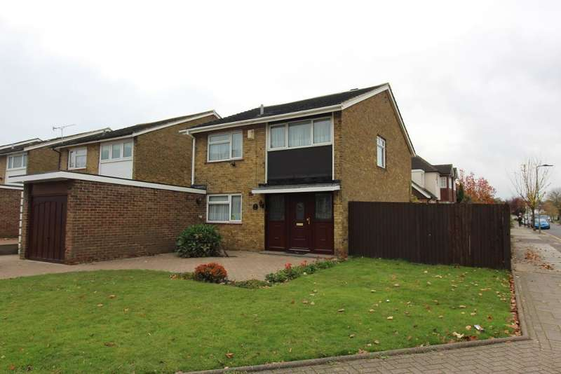 3 Bedrooms Detached House for sale in Eldred Drive, Orpington, Kent, BR5 4PF