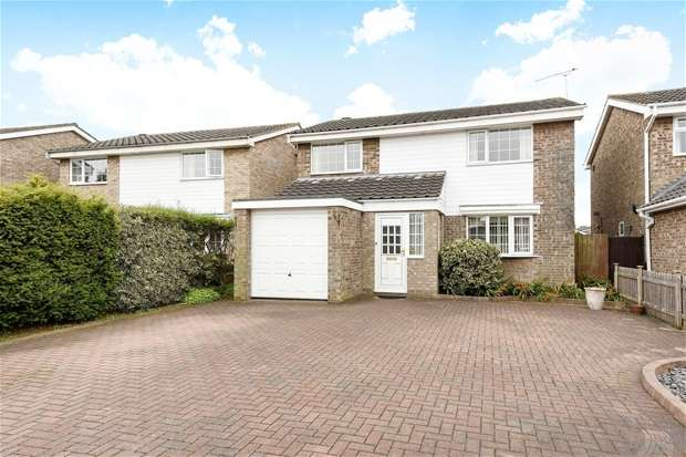 4 Bedrooms Detached House for sale in Widecombe Close, Bedford