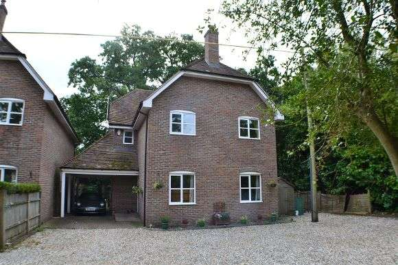 5 Bedrooms Detached House for sale in Heath End Cottage, Bishopswood Lane, Baughurst, Tadley