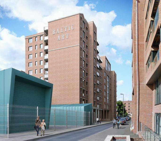 1 Bedroom Apartment Flat for sale in ART Apartments, Tabley St, L1