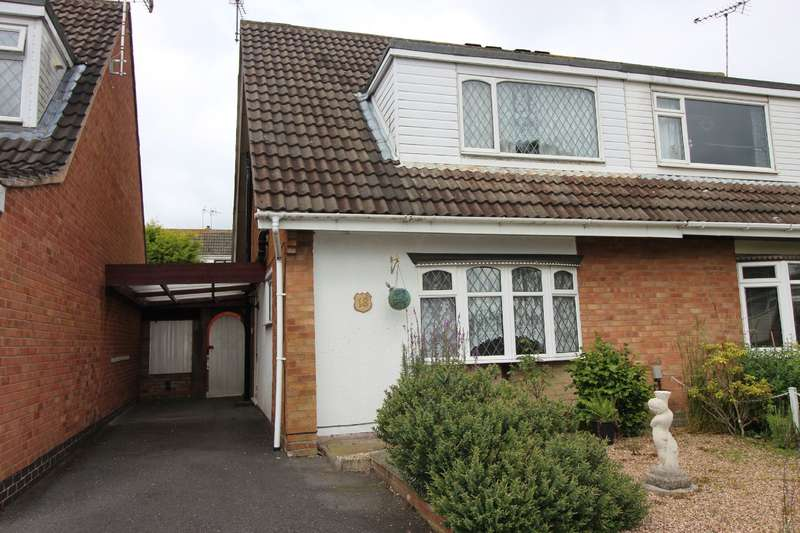 3 Bedrooms Semi Detached House for sale in Mersey Road, Bulkington, Nr Coventry, CV12