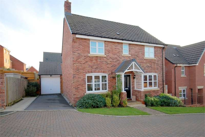 4 Bedrooms Detached House for sale in Hawthorn Close, Eden Park, RUGBY, Warwickshire