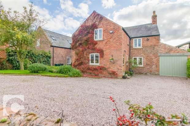 4 Bedrooms Detached House for sale in Old Hall Farm, Old Hall Lane, Puddington, Cheshire