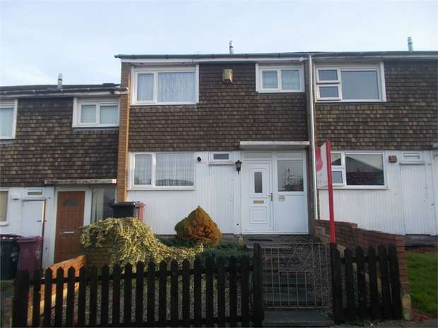3 Bedrooms Terraced House for sale in Brookway, Blackburn, Lancashire