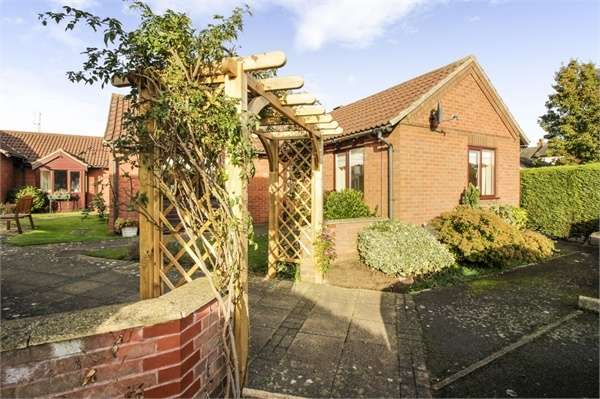 1 Bedroom Semi Detached Bungalow for sale in Vicarage Lane, Eaton, Grantham, Leicestershire