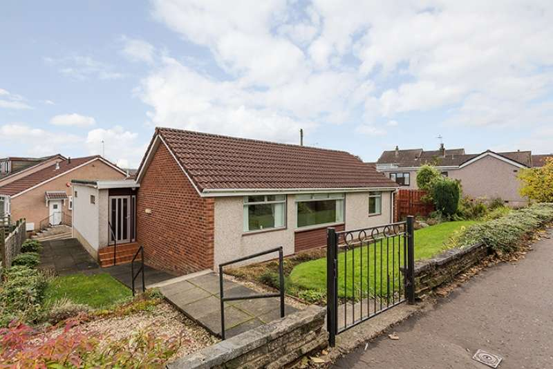 3 Bedrooms Bungalow for sale in Vorlich Court, Barrhead, Glasgow, G78 2DZ