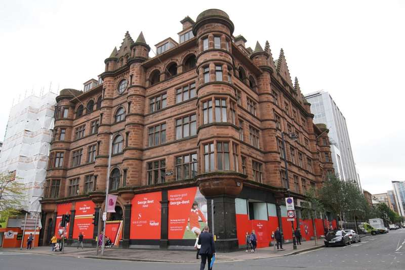1 Bedroom Serviced Apartments Flat for sale in The George Best Hotel, Donegall Square South, BT1