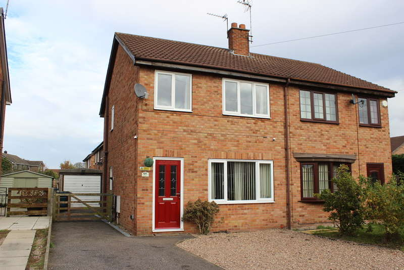 3 Bedrooms Semi Detached House for sale in Millfield Drive, Camblesforth