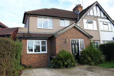 5 Bedrooms Semi Detached House for sale in Silver Close, Harrow Weald