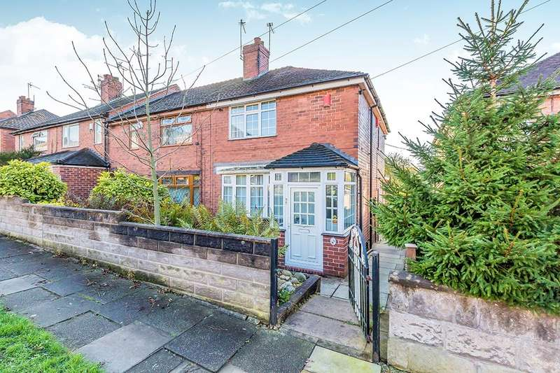 3 Bedrooms Semi Detached House for sale in Barnfield Road, Cobridge, Stoke-On-Trent, ST6