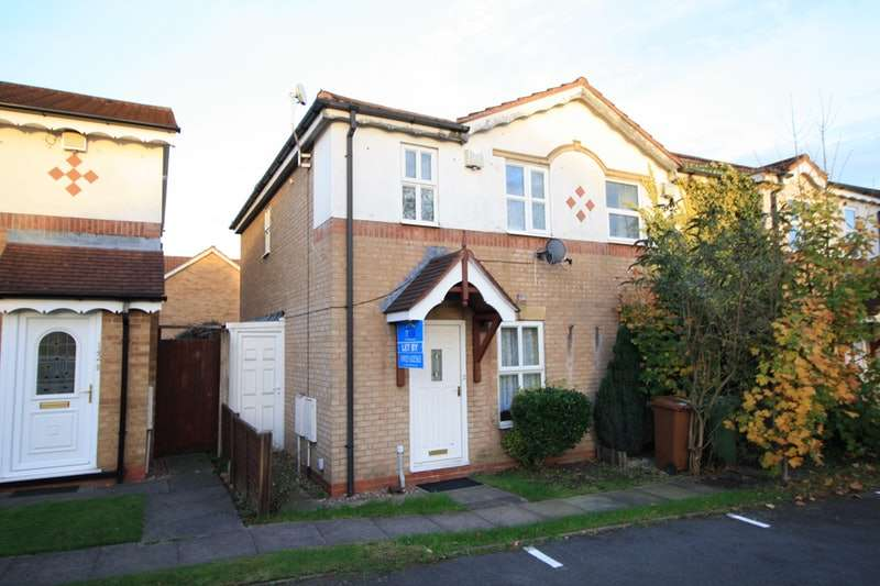 2 Bedrooms End Of Terrace House for sale in Wenlock Gardens, Walsall, West Midlands, WS3