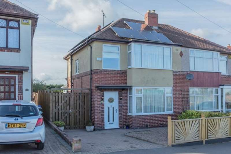 3 Bedrooms Semi Detached House for sale in Swanbourne Road, Sheffield, South Yorkshire, S5