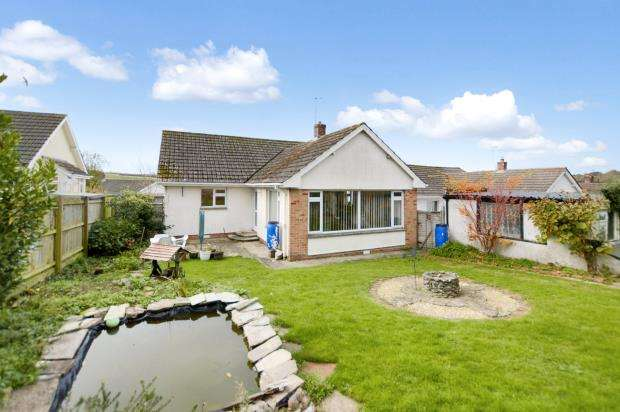 3 Bedrooms Detached Bungalow for sale in Aller Close, Kingskerswell, Newton Abbot, Devon