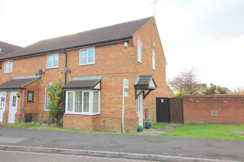 3 Bedrooms End Of Terrace House for sale in Cromer Way, Luton, Bedfordshire, LU2 7DB