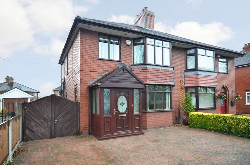 3 Bedrooms Semi Detached House for sale in Trentham Road, Longton, Stoke-on-Trent, ST3 4EH