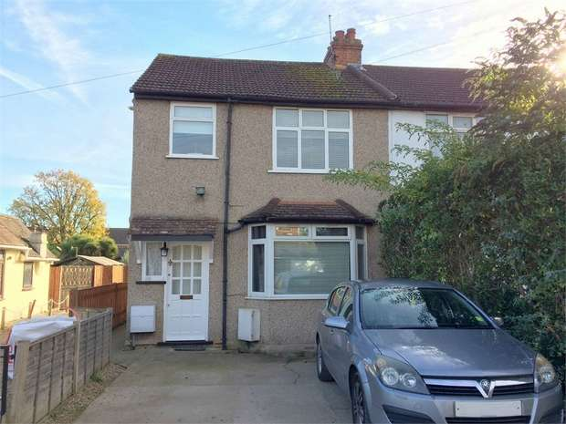 2 Bedrooms Maisonette Flat for sale in Ruxley Close, West Ewell