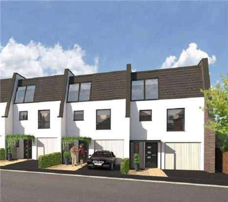 4 Bedrooms Town House for sale in Plot 2, Lansdown Villas, Church Road, CHELTENHAM, GL51 7AN