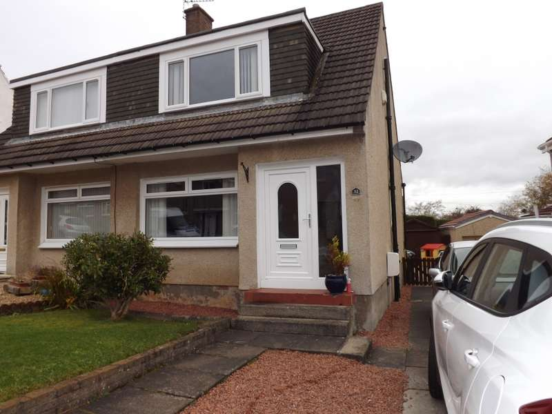 3 Bedrooms Semi Detached House for sale in 32 Rederech Crescent, Hamilton, ML3 8QF