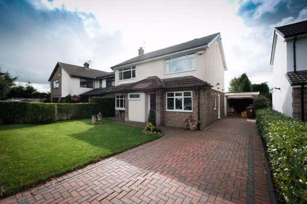 3 Bedrooms Detached House for sale in Moorfield Close, Fulwood, Preston, PR2