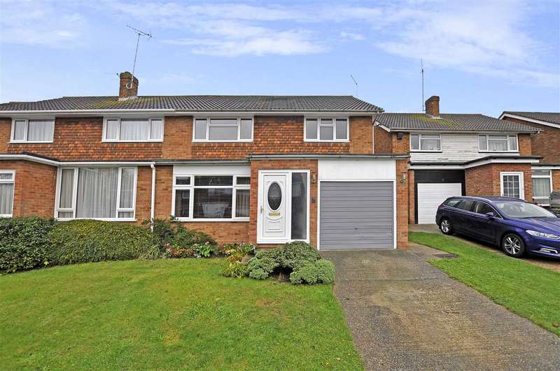 4 Bedrooms Semi Detached House for sale in Longacre, Chelmsford