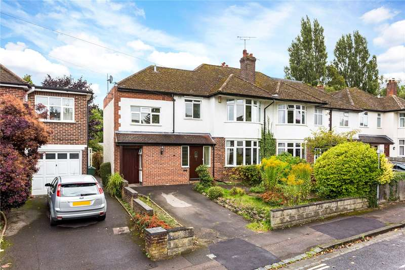 4 Bedrooms Semi Detached House for sale in Staunton Road, Headington, Oxford, Oxfordshire, OX3