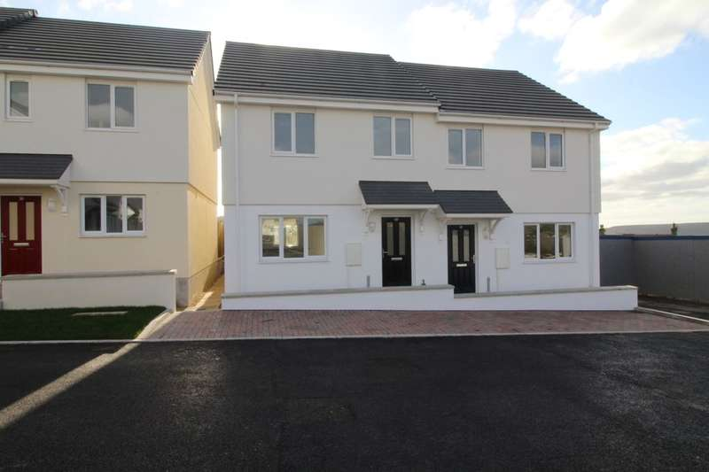 3 Bedrooms Semi Detached House for sale in Parc-An-Bre Drive, St. Dennis, St. Austell, PL26