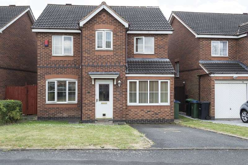 4 Bedrooms Detached House for sale in Eagle Lane, Tipton