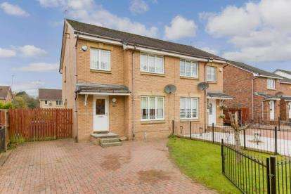 3 Bedrooms Semi Detached House for sale in Whinhill Road, Glasgow, Lanarkshire