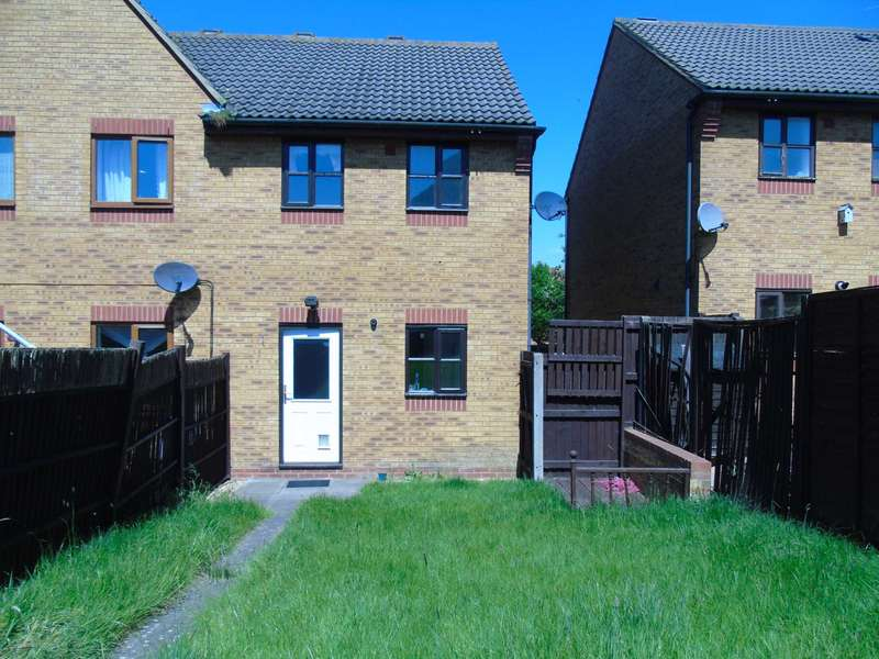 2 Bedrooms Semi Detached House for rent in Woodspring Court, Monkston