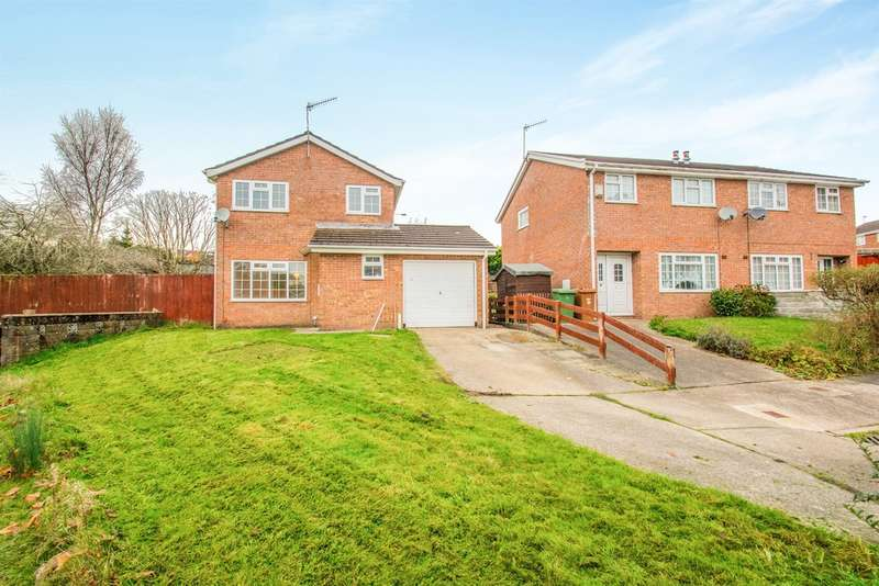 3 Bedrooms Detached House for sale in Coed Yr Eos, Caerphilly