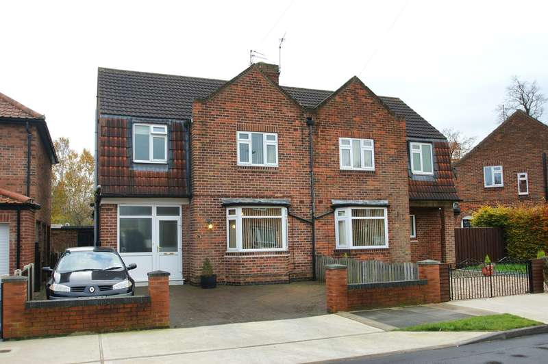 3 Bedrooms Semi Detached House for sale in Brompton Road, York, YO30