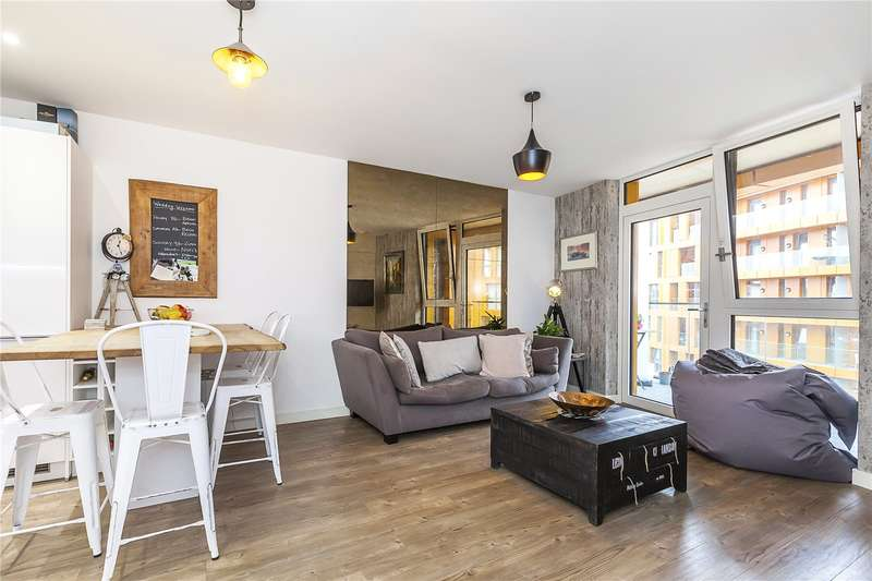 2 Bedrooms Flat for sale in Garda House, 5 Cable Walk, London, SE10
