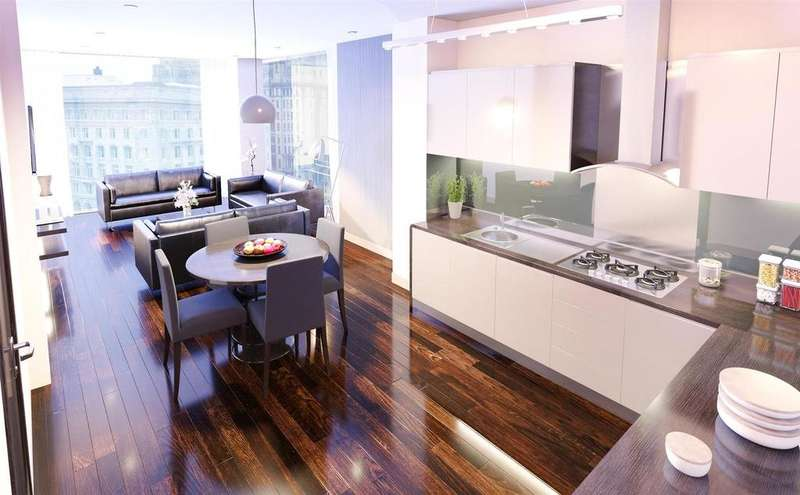 1 Bedroom Studio Flat for sale in 7 The Strand, Liverpool