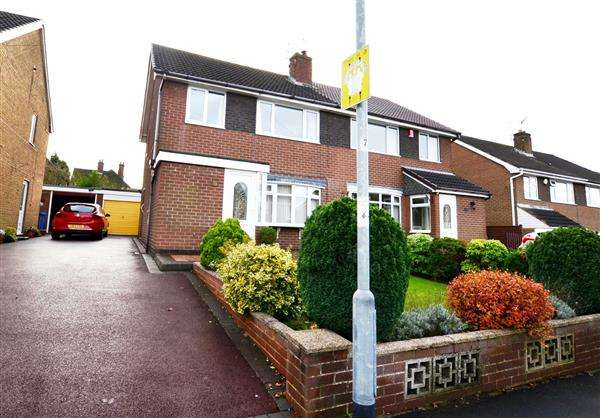 3 Bedrooms Semi Detached House for sale in Melidan Way, Penkhull, Stoke on Trent
