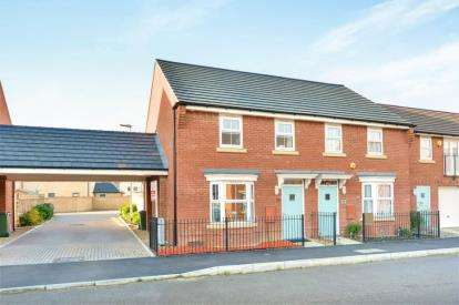 3 Bedrooms Semi Detached House for sale in Shaw Savill Way, Brooklands, Milton Keynes