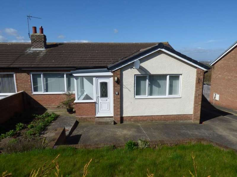2 Bedrooms Bungalow for rent in Huntcliffe Drive, Saltburn By The Sea