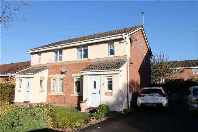 3 Bedrooms Semi Detached House for sale in Moorside Drive, Carlisle, Cumbria, CA1 3TE