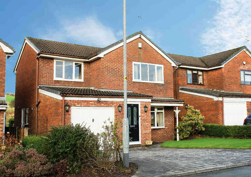 4 Bedrooms Detached House for sale in Riverside, Irk Vale, Chadderton