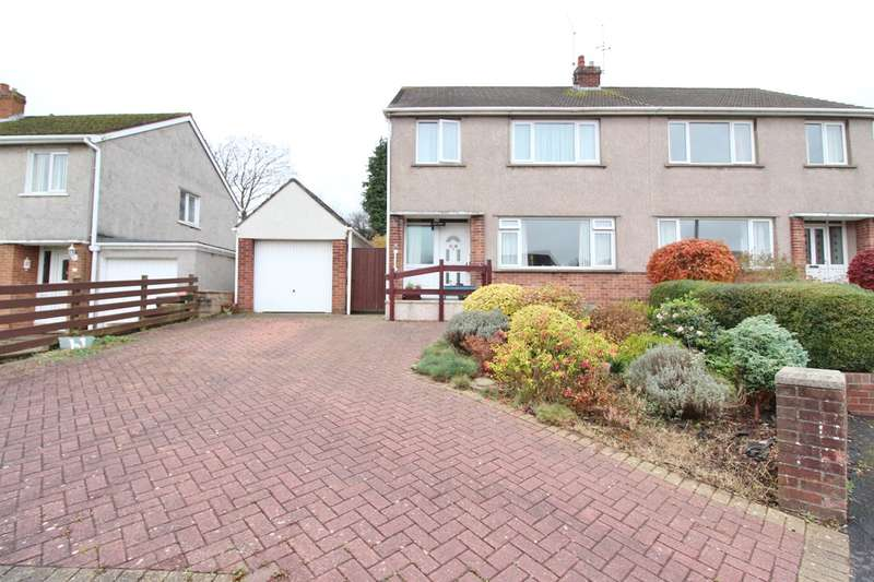 3 Bedrooms Semi Detached House for sale in Penylan Close, Bassaleg, Newport, NP10
