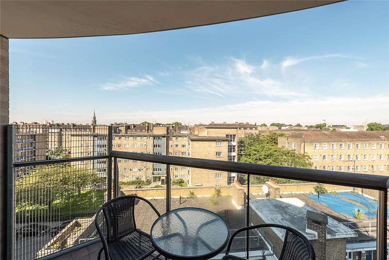 2 Bedrooms Flat for sale in Cubitt Court, 100 Park Village East, London, NW1